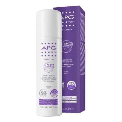 Apg Tech Desodorizante Suavizante Spray Corporal