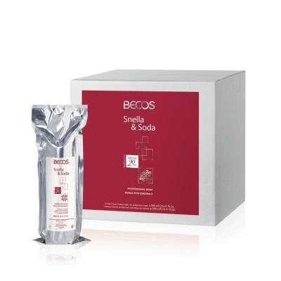 Snella&soda Bandagem Profissional - 5 Bandagens Unidose 14 M X 20 Cm