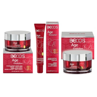 Age Evolution- Cremes Voluptuosos + Creme Anti-rugas Para O Pescoço E Lábios Olhos +extra Face-neck & Eyes-lips
