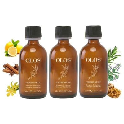 Olos Fitoessenze-kit Facial Body Kit Drena Calmas Purifica