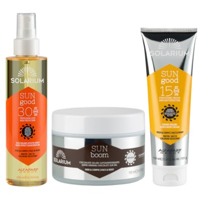 Solarium Chocolate Super Bronzeado + óleo Spf30 + Creme Fps15 Face-body