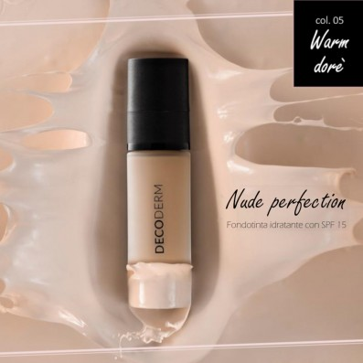 DECODERM Nude Perfection Fundação Hidratante SPF15 Col.05